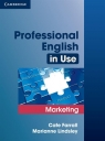 Professional English in Use Marketing (Uszkodzona okładka) Farrall Cate, Lindsley Marianne