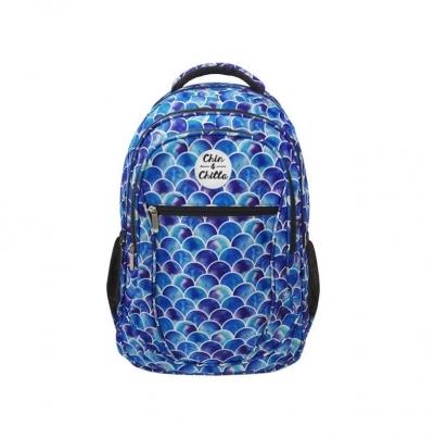 Plecak Łuski niebieski