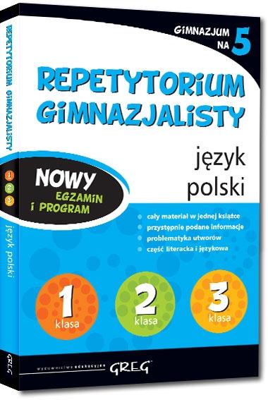 Repetytorium gimnazjalisty - język polski - 2018 Mariola Rokicka