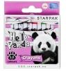 Kredki woskowe 12 kolorów - Panda