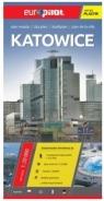 Katowice. Plan miasta 1:20 000. Europilot wersja plastik praca zbiorowa