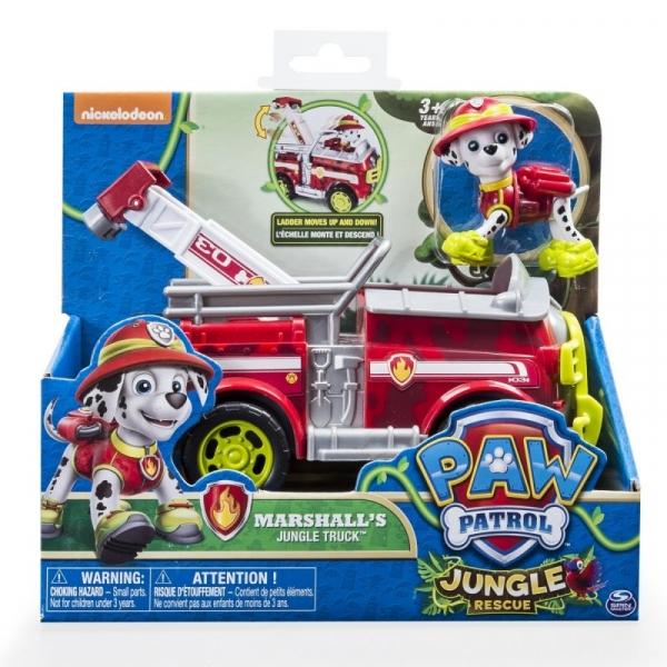 PSI PATROL Pojazd specjalne z figurką Jungle, Marshall (6031703/20079027)