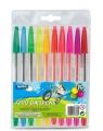 Długopisy Fluorescencyjne Lambo School 10-Kol. W Etui (L319W10)