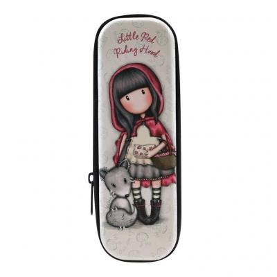 Blaszany piórnik na suwak - Little Red Riding Hood