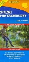 Spalski Park Krajobrazowy mapa turystyczno-krajoznawcza 1:50 000