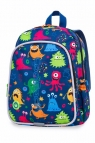 Coolpack - Bobby - Plecak Dziecięcy - Led Funny Monsters (A23206)