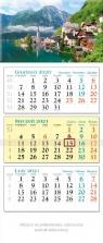 Kalendarz 2021 trójdzielny KT 10 WIDOK