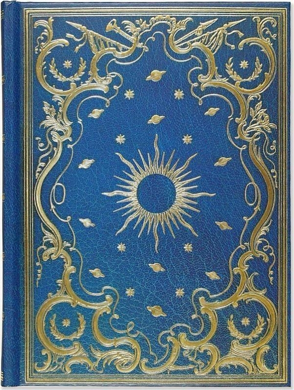Notatnik szyty Niebiański