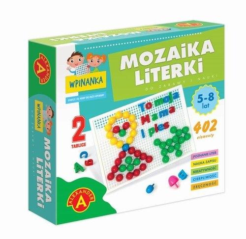 Wpinanka-Mozaika Literki