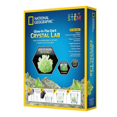 National Geographic Laboratorium do hodowli kryształu świecącego w ciemności