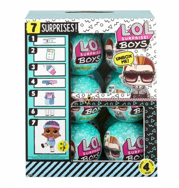 Laleczka L.O.L. Surprise Boys display 12 sztuk (572695EUC/display)