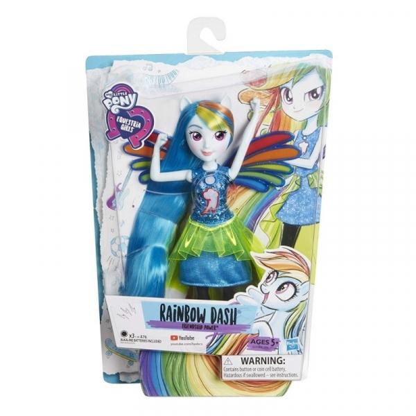 Lalka My Little Pony Moc Przyjaźni - Rainbow Dash (E1984/E2744)