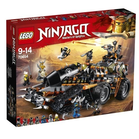 Lego Ninjago: Dieselnauta (70654)