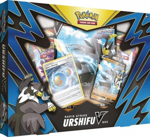 Karty Battle Styles V Box Urshifu V - Rapid Strike (80843/8432A)