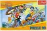 Puzzle 30 elementów Looney Tunes Rajd rowerowy