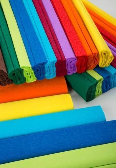 Bibuła marszczona 50x200 mix kolorów