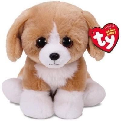 Maskotka Beanie Babies Franklin - brązowy pies 15 cm (42269)
