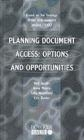 Planning Document Access Options Neil Jacobs,  etc.