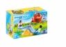 Playmobil 1.2.3 Aqua: Huśtawka wodna z konewką (70269) Wiek: 1,5+