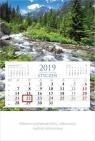 Kalendarz 2019 Jednodzielny Rzeka KM3