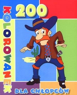 200 kolorowanek dla chłopców