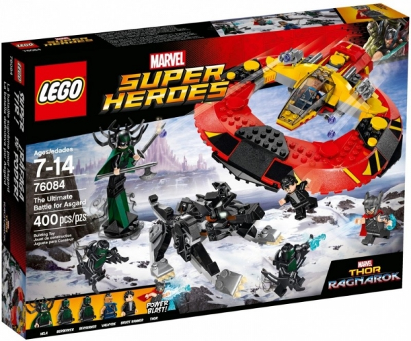 Lego Marvel Super Heroes: Ostateczna bitwa o Asgard (76084)