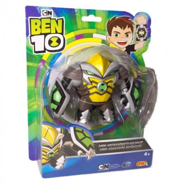 Ben 10 figurka podstawowa z akcesoriami 13 cm OMNI Wstrząśnięty Kulopłot (PBT76100/76151)