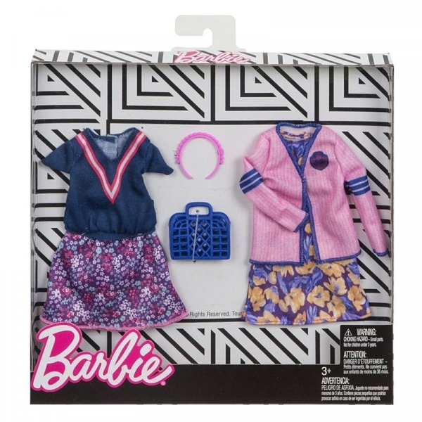 Barbie - Ubranka i akcesoria 2-pak FKT29 (FKT27/FKT29)