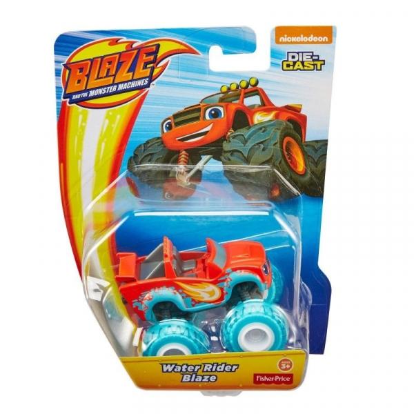 Pojazdy Metalowe Blaze  Water Rider Blaze (CGF20/GGW59)