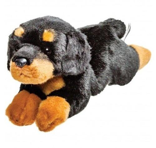 Leżący rottweiler 30 cm
