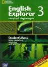 English Explorer 3 Podręcznik z płytą CD Gimnazjum Stephenson Helen, Bailey Jane, Tkacz Arek