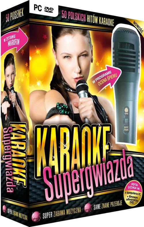 Karaoke Supergwiazda - z mikrofonem (PC-DVD) L.K.AVALON