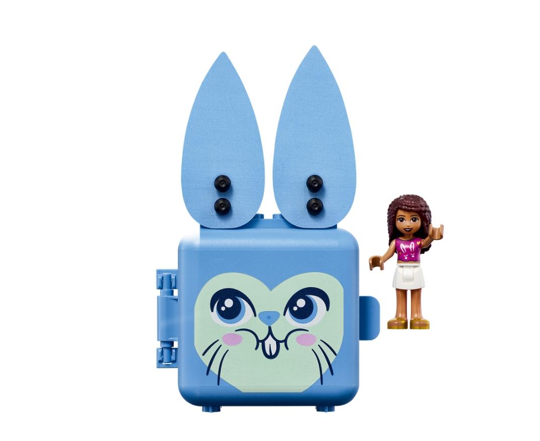 Lego Friends: Kostka Andrei z królikiem (41666)