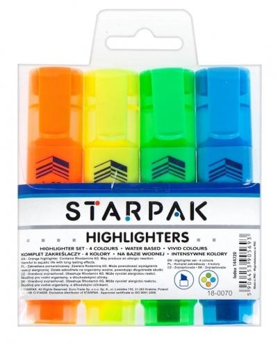 Zakreślacz 4 kolory