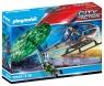 Playmobil City Action: Policyjny śmigłowiec - Ucieczka ze spadochronem (70569)