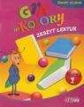 Gra w kolory 1 Zeszyt lektur szkoła podstawowa Mazur Barbara, Zagórska Katarzyna