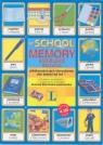 At School Memory angielskie słówka edukacyjna gra obrazkowa dla dzieci Jackowska-Zarańska Joanna