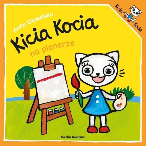 Kicia Kocia na plenerze Głowińska Anita
