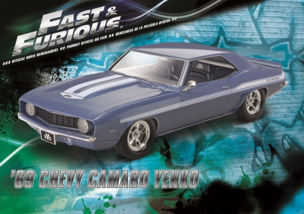 Model plastikowy Fast & Furious - 1969 Chevy Camaro Yenko (07694)