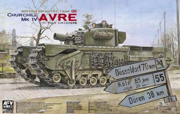 AFV Churchill Mk IV Avre (35169)