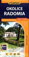 Okolice Radomia mapa turystyczna 1:75 000