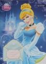Zeszyt A5 Disney Księżniczki w kratkę 16 kartek Kopciuszek