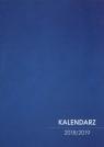Kalendarz 2018/2019 nauczycielski niebieski