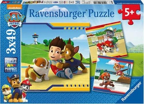 Puzzle 3w1 3x49: Psi Patrol Futrzani bohaterowie (093694)