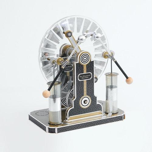 Maszyna elektrostatyczna Wimshurst do samodzielnego montażu