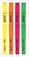 Zakreślacze Neoline YN TEEN, 4 kolory (433567)