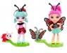 Enchantimals: Małe Przyjaciółki Kwitnący Ogród 2-pak: Ladelia Ladybug i