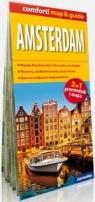 Amsterdam map&guide laminat Praca zbiorowa
