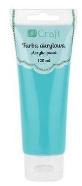 Farba akrylowa, 120 ml - turquoise blue (DPFA-058)
