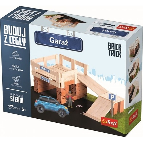 Garaż Buduj z cegły (60869)